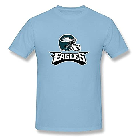 Hommes Style Unique Philadelphia Eagles Helmet T-shirtsLarge