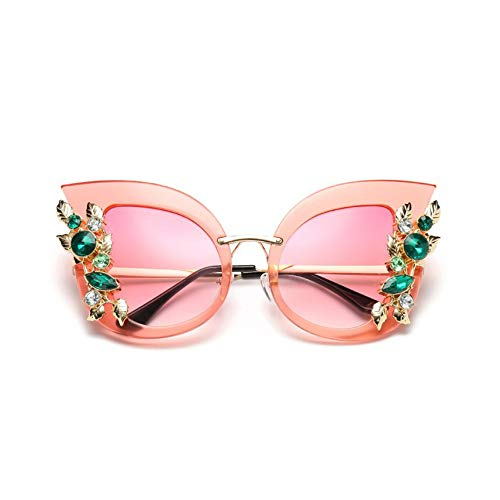 HibiscusElla Fashion Exaggerated Big Frame Flower Sunglasses