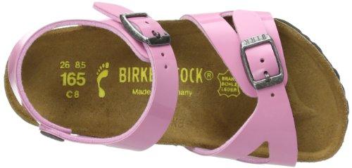 Birkenstock Kids RIO BF LACK 731263 Mädchen Clogs & Pantoletten Pink (CASHMERE ROSE)
