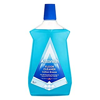Astonish Floor Cleaner Cotton Breeze Fragrance No Rinse Formula 1 Litre (One Bottle)