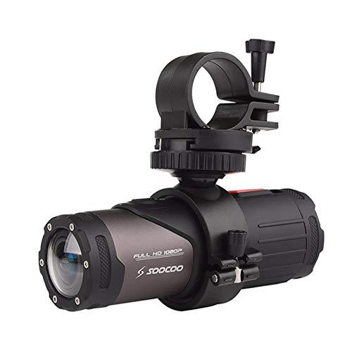 QYEND HD 1080P Mini Sport DV Kamera, Fahrrad Motorrad Helm Action DVR Video Cam, 170 ° Weitwinkel-Bewegungskamera 15Mwifi Wasserdicht Für Outdoor-Sportarten Reiten