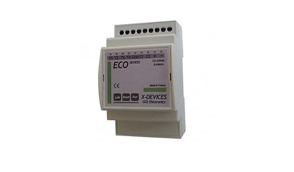 module ip de suivi de consommmation eco devices gce electronics amazonfr bricolage