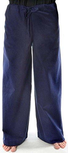 HEMAD Damen Schnür-Hose dunkelblau XXXL (Damen Piraten Hose)
