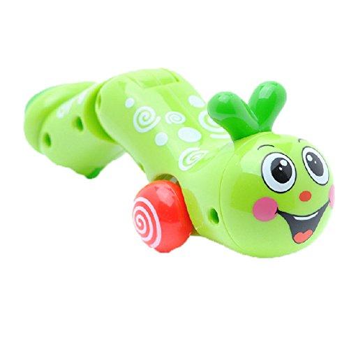 Satz von 2 Schöne Tiere Wind-up-Spielzeug für Kinder, Reptil (Farbe Random)