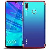 QULLOO Cover for Huawei Y7 2019/Huawei Y7 Prime 2019 Handy hülle Soft Silikon Hülle TPU Bumper Case Ultra Dünn TPU Cover Krat