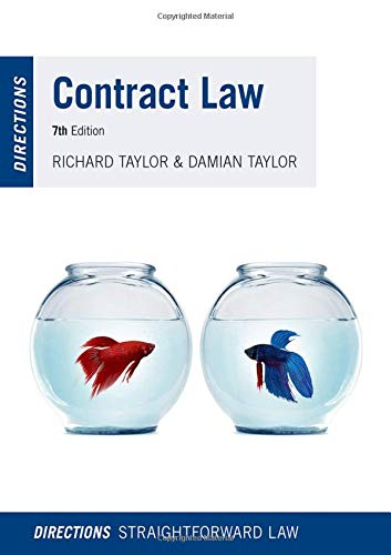 Contract Law Directions di Richard Taylor,Damian Taylor