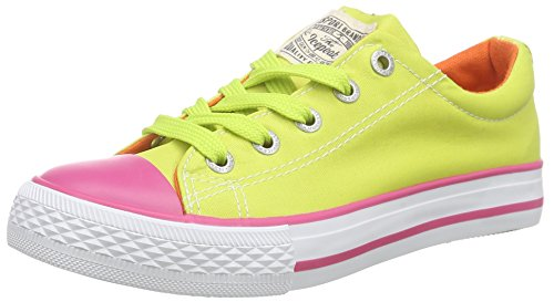 Icepeak Wubbe Jr Unisex-Kinder Low-Top Gelb (504 aloe)