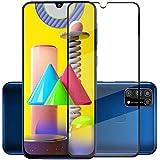 Zarala 11D Tempered Glass For Samsung Galaxy F41 Edge to Edge Full Glue Screen Guard Protector