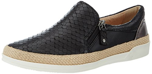 Caprice Damen 24202 Slipper, Schwarz (Blk Fish Multi), 37.5 EU
