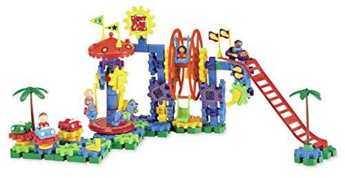 Learning Resources Gears! Gears! Gears! Dizzy Fun Land Motorisiertes Bauset,