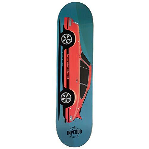 "Inpeddo x Nopreme Skateboard Deck Fast Classics 1973 Seventythree 8.375\"" (Blue)"