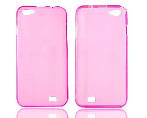 caseroxx TPU-Hülle für Archos 50 Helium Plus, Tasche (TPU-Hülle in pink)