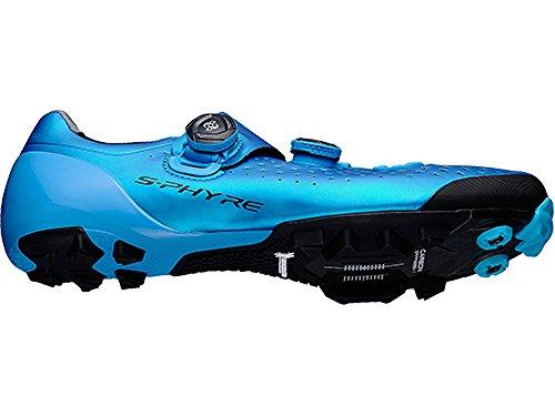 Shimano SH-XC9B - Chaussures - turquoise 2017 chaussures vtt shimano blue