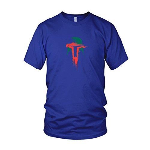 Boba Splash - Herren T-Shirt Blau