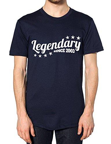 Legendäre seit 2003T Shirt Navy
