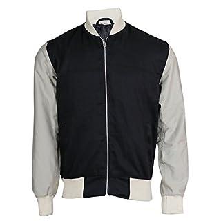 Red Smoke Baby Driver Ansel Elgort Varsity Letterman Bomber Cotton Jacket