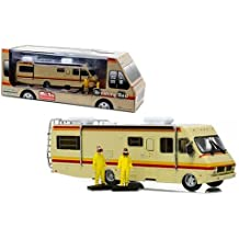 BREAKING BAD Model DieCast MOBIL HOME with 2 FIGURES Walter Jesse 1/64 Greenlight