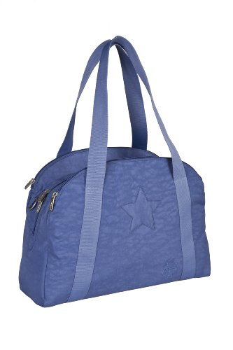 Lässig bolso cambiador Casual Porter Bag azul Blue Jeans