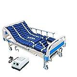 WuLien Antidekubitus Matratze Wechseldruckmatratze Beinhaltet EIN Elektrisches Pumpensystem Und EIN Pipiloch, Lieben, Passt Standard Krankenhausbett -