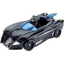 Liga de la justicia acción dwm48batmóvil figura y bate Jet Vehículo juguete