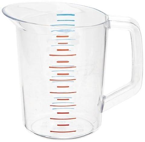 Rubbermaid Commercial FG321600CLR Bouncer Measuring Cup, 1-quart by Rubbermaid