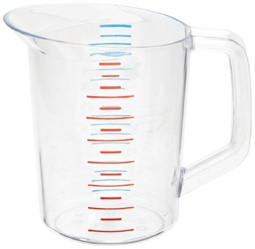Rubbermaid Commercial FG321600CLR Bouncer Measuring Cup, 1-quart by Rubbermaid Commercial (Bouncer 1 Quart)