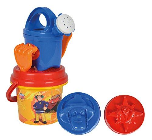 Simba 109256110 - Feuerwehrmann Sam Baby Eimergarnitur 7-teilig