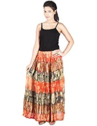 Franclo Women's Georgette skirt
