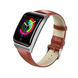 HQHOME Smartwatch, Fitness Armband Tracker Voller Touchscreen IP68 Wasserdicht Smart Watch Aktivitäts Uhr Sportuhr, Damen Herren Pulsmesser Schlafmonitor SMS Beachten Armbanduhr für Android iOS