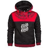 Blood Family First Männer Sport Kapuzen Pullover XL