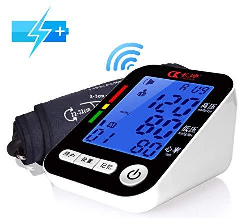 RENYAYA Armtyp Elektronische Sphygmomanometer Voice Broadcast Blut Druckmesser DREI-Farben-Großbildschirm Ältere Spezielle Druckmessgeräte