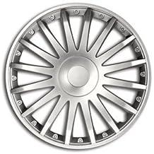 "ALTIUM - Bolsa 4 Tapacubos 16"" Modelo CRYSTAL. Plateado"