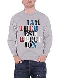 The Stone Roses Sweat-Shirt I am the Resurrection nouveau officiel Homme Gris