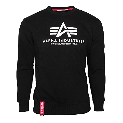 Alpha Industries Basic Sweater Nero