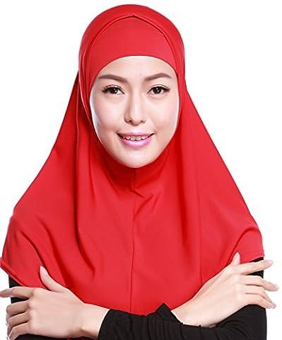 Auspicious beginning Muslim Amira Islamic Solid Soft Scarf Long Head