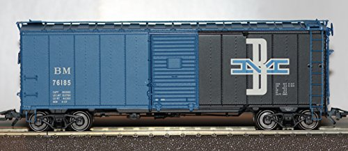 Märklin H0 45657-03 US Single-Door Box Car der Boston & Maine Neu (Single-door Box)