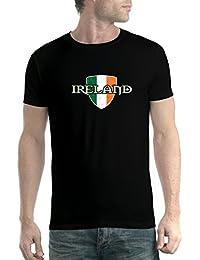 de Irlanda Irlandés avocadoWEAR e Camiseta Orgulloso Bandera Hombre A57W7q