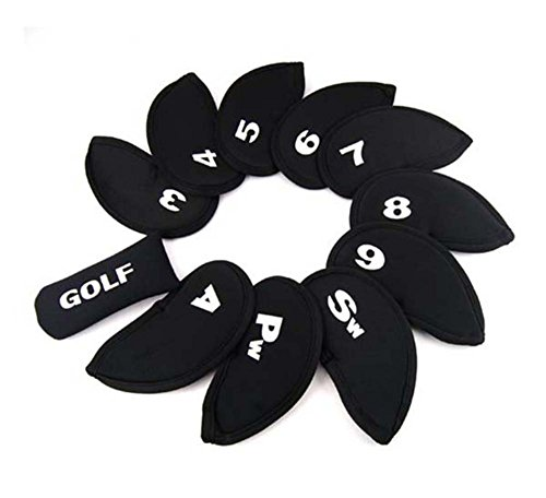 SaySure - Golf Headcovers 10 Iron and 1 Putter Protect Sports Set