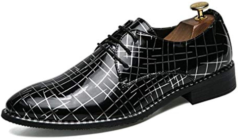 FuweiEncore Scarpe da Uomo Pelle Verniciata comodità Autunnale Scarpe da Cerimonia Scarpe da Passeggio Oxford ... | Materiali Selezionati Con Cura  | Maschio/Ragazze Scarpa