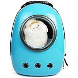 Espacio capsual Pet Dog Cat Puppy Carrier Mochila de hombro portátil bolsa de viajes senderismo frontal exterior para perros pequeños y gatos