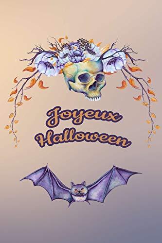 Carnet de Notes: Halloween - Petit journal personnel de 121 pages lignées avec couverture et pages sur le thème d'Halloween (Mon petit journal d'Halloween, Band 29)