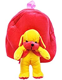 PRACHI TOYS'' Cute TEDDY Soft Toy For School Bag For Kids, Travelling Bag, Carry Bag, Picnic Bag, Teddy Bag (PINK)