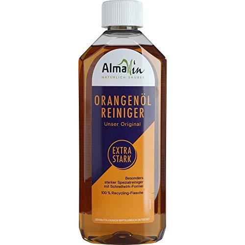 AlmaWin Bio Orangenöl-Reiniger Extra Stark (6 x 500 ml)