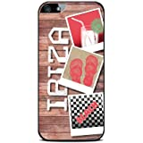 Modelabs Made In France Coque auto cicatrisante en silicone pour iPhone 4 Motif Ibiza
