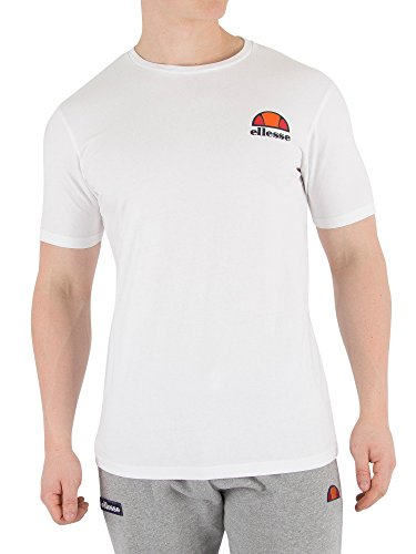 Ellesse Canaletto Camiseta, Hombre, Blanco (Optic Whit), M
