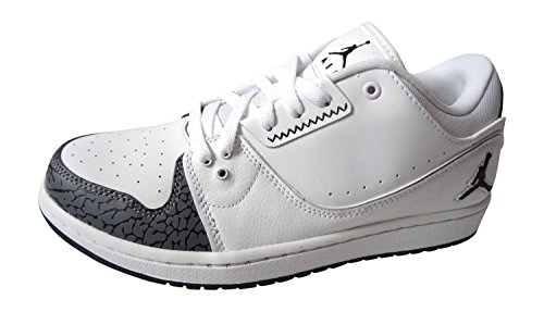 de217e3929e191 ... White White. nike air jordan 1 flight 2 low mens trainers 654465  sneakers shoes  Amazon.co ...