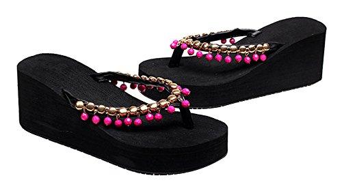 Lukis Flip Flops Damen Slipper Sommer Schuhe Zehentrenner Color2