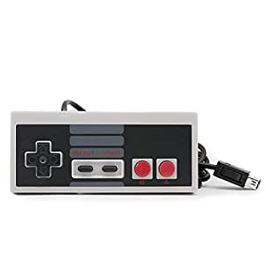 qumox gamepad controller pour nintendo mini classic nes manette 1 8m cable high tech. Black Bedroom Furniture Sets. Home Design Ideas