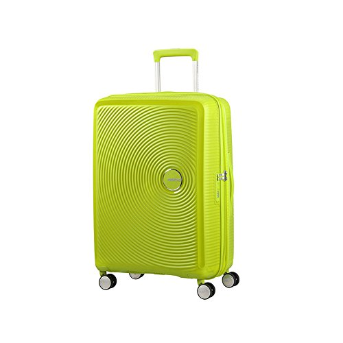 american-tourister-soundbox-spinner-67-24-expandable-bagaglio-a-mano-67-cm-715-liters-verde-tropical