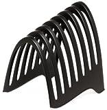 Rexel 2102008 Stehsammler/Vertikale Ablage EcoDesk (100% recycelbar) schwarz